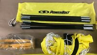 1 Portable Soccer Goal with yellow carry-bag by Power Bolt (H3)