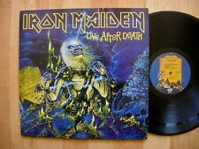 IRON MAIDEN live after death CAPITOL SABB 12441 gate 1985 metal  EX