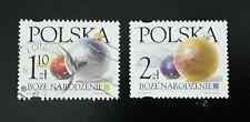 Complete Polska / Poland used stamp set - 2002 Christmas