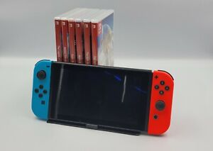 Nintendo Switch Console And Game Stand