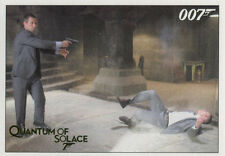 James Bond Archives 2015 Quantum of Solace Gold Chase Card 006 #115 of 125