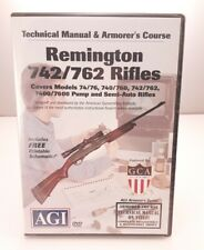 Remington 74 76 740 760 742 762 7400 7600 Gunsmithing Dvd Agi Video Gunsmith