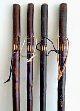 SPLENDIDA rustico in legno bastone da passeggio / CANNA Mano Intagliato CHESTNUT WOOD STICK 91cm