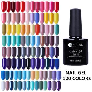 7.5ml UR SUGAR Nail UV Gel Polish Soak off Nail Art UV/LED Gel Varnish Colorful