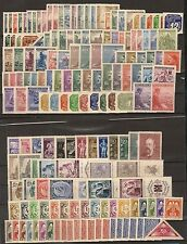 German occupation of Bohemia & Moravia collection of 162 MNH stamps  ** !!