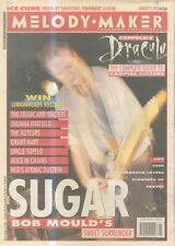 """(ANEW11) NME NEWSPAPER COVER PAGE 15X11"""" BOB MOULDS OF SUGAR 9/1/1993"""