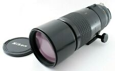 EXC+4 Nikon Ai-S NIKKOR 300mm f/4.5 Telephoto MF Lens w/cap from JAPAN by FedEx