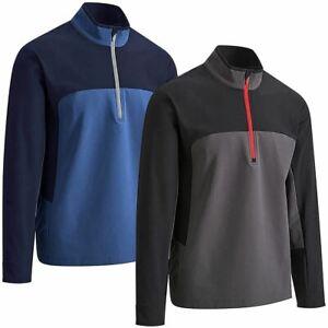 Callaway Mens Singtex Stormfleece 1/2 Zip Sweater Water Repellent Golf Pullover