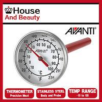 Avanti Tempwiz Precision Meat Thermometer Temperature Range -10ºC to 100ºC