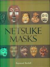 NETSUKE MASKS  BUSHELL RAYMOND KODANSHA 1985