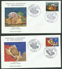 NEW CALEDONIA FRANCE 2 X 1974 SHELL FIRST DAY COVERS NICE BIN PRICE GB£5.00