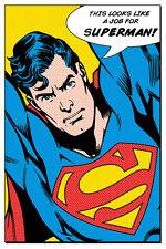 Superman ressemble à un emploi pour affiche 91.5X61CM neuf discounted pyramide