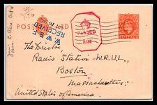 Gp Goldpath: Great Britain Postal Card 1942 _Cv620_P25
