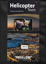 HELO HELICOPTERS REYKJAVIK ICELAND BELL 407 HELICOPTER TOURS BROCHURE 2016