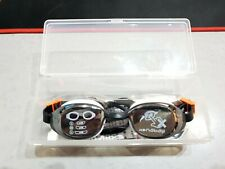 NABAIJI 2116695 - Lunettes de natation B-Fit noir argent miroir *NEUF*