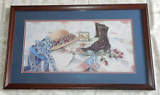 Framed Print Picture GLYNDA TURLEY LaBelle IV Signed & Numbered LE Chic Shabby