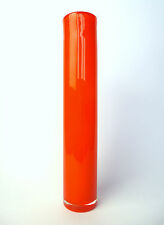 Caduto Vaso cilindro a 1950 luminoso Orange B-569