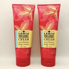 2 Bath & Body Works Lemon Pomegranate Cream Body Triple Moisture Body Cream 8 oz