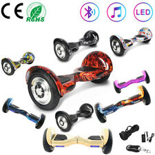 """Electric Scooters 10"""" Hoverboard Balance Board Self Balancing Scooter Bluetooth"""