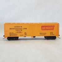Vintage HO Scale Mantua Armour Refrigerator Line 40' Reefer Boxcar ARLX 1754