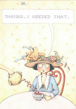 Mary Engelbreit-Thanks I Needed That-Blank Greeting Card/Envelope-New!