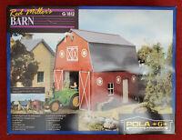 Pola 1812 Red Miller's Barn Kit in Box - G Scale Garden Railroad - UNASSEMBLED