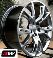 "Jeep Grand Cherokee OE Factory Replica Wheels 20"" inch Hyper Silver 20x9"" Rims"