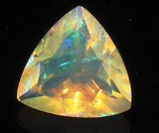 0.94 TCW 8x8 mm  NATURAL ETHIOPIAN WELO FIRE OPAL FACETED CABS -EB255
