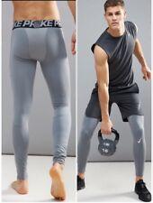 """Nike Pro Warm Uomini """"di formazione in esecuzione collant Gioco Cool Grigio Taglia Small A2"""