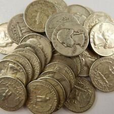 $1 Face Value - 90% Silver U.S. Coin Mixed Lot Half Dollars, Quarters, or Dimes