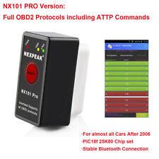ODB2 OBDII Car Diagnostic Scanner Code Reader ELM327 Bluetooth For Android NX101