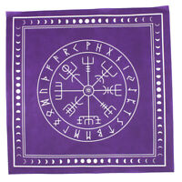 49x49cm Altar Tarot Tablecloth Table Cloth Divination Card Square Tapestry Purpl