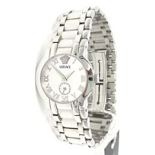 Versace Madison BSQ99 Roman Numeral White Dial Stainless Steel Ladies Watch
