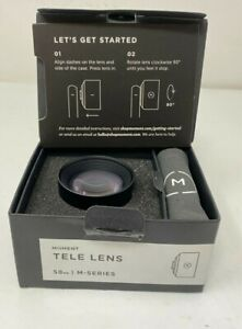 Moment Tele Lens 58mm #100-005 M Series Iphone, Android compatable New Free Ship