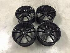 "19"" Golf R Pretoria Style Alloy Wheels Gloss Black VW MK5 6 7 Audi A3 A4 A6"