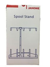 Janome Spool Stand For Embroidery Machine.  Sells For Over $100.   Never Used.
