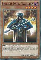 YU-GI-OH CARD: SKILLED DARK MAGICIAN - SDMY-EN021 - 1st EDITION