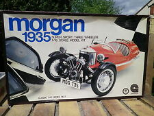 CLASSIC CAR 1:16 MORGAN 1935 trois roues, état neuf complète, pieces en grappe