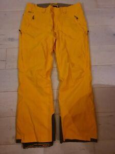 Mamutt Skihose Größe 54 in der Farbe Gelb/Orange 20000 Wassersäule