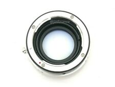 new Nikon F/G focal reducer speed booster adapter to Canon EOS-M EOSM M2 M3