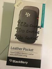 BlackBerry Leather Pocket for Curve 9320,9310,9220 ACC-48097-201- Original B/New