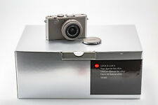 (99) NEW Leica D-LUX 4 TITAN 10.1MP w/cap pouch cables strap booklets box L@@K