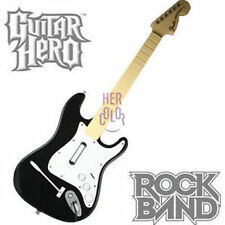 Play Rock Band Guitar Hero Wired Controller USB for Microsoft Xbox 360 Music