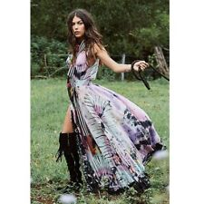 Spell & the Gypsy Collective Lucy in the Sky Gown Tie Dye Size S Small Maxi Dres