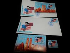 Vintage Cover, GEORGIA, FDC, 2001,America We Trust You Covers & Stamp Set, 9/11