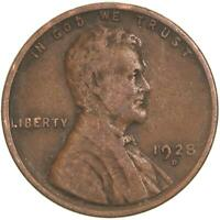 FREE AND PROMPT SHIPPING 1928 D LINCOLN WHEAT CENT
