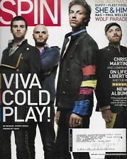 7/2008 SPIN magazine  COLDPLAY cover  Paul Weller