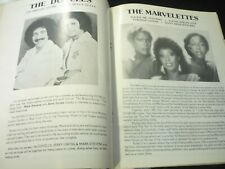 The Marvelettes and The Tokens Concert Program Canandaigua New York