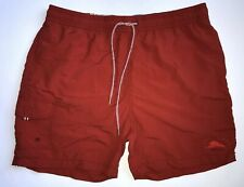 Tommy Bahama Relax Swim Trunks Orange Red Mens Size XL Board Shorts Mesh Lined