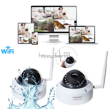 Wireless Full HD 720P Security Network Dome IP Camera Outdoor IR Night Vision